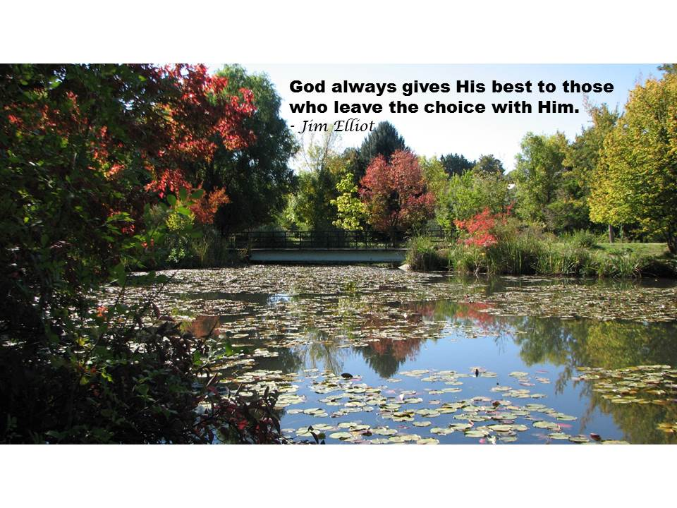 God Always Gives His Best