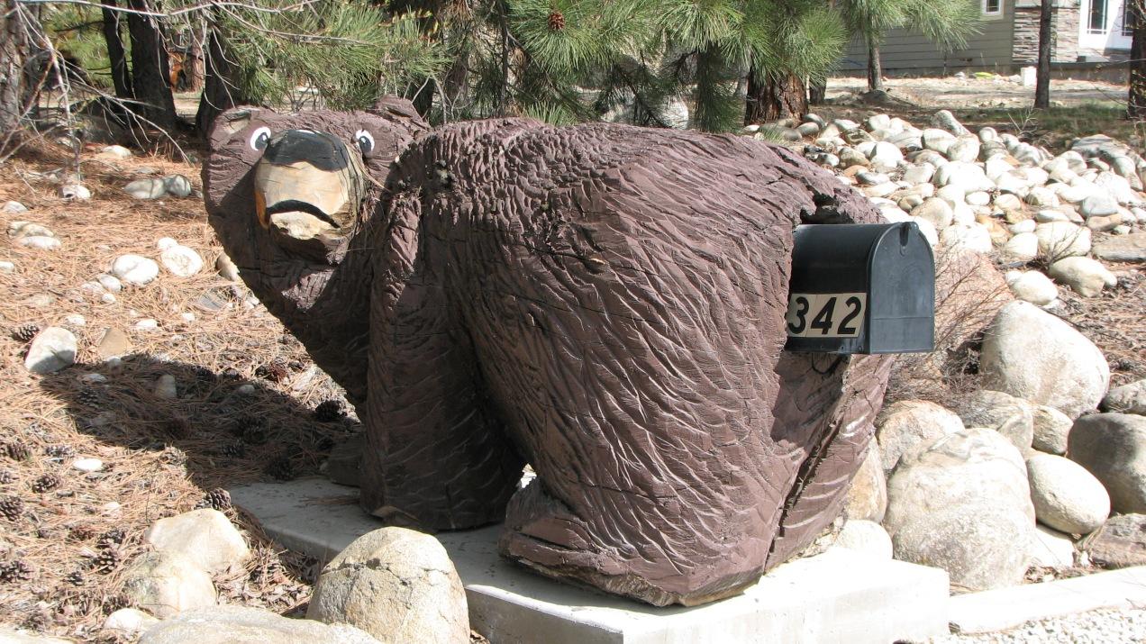 Bear Mailbox